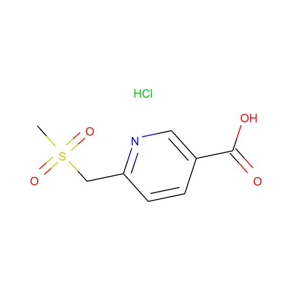 AA BLOCKS 6-((Methylsulfonyl)Methyl)Nicotinic Acid Hydrochloride package