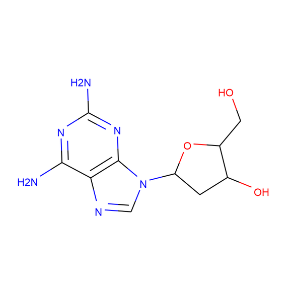 US Biological 2-Amino-2'-deoxyadenosine SKU: 295185 package