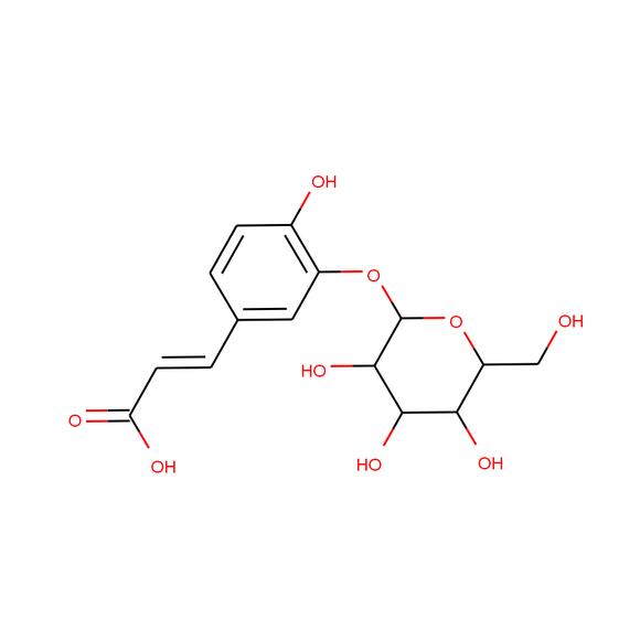 US Biological Caffeic acid 3-O-b-D-glucopyranoside SKU: 292908 package