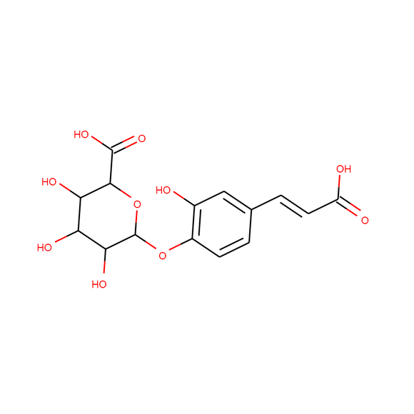 US Biological Caffeic Acid 4-β-D-Glucuronide SKU: 005497 package