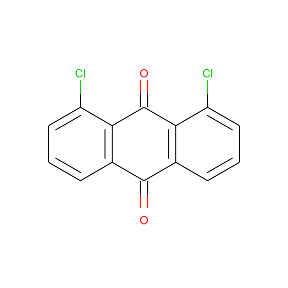 US Biological 1,8-Dichloroanthraquinone SKU: 411506 package