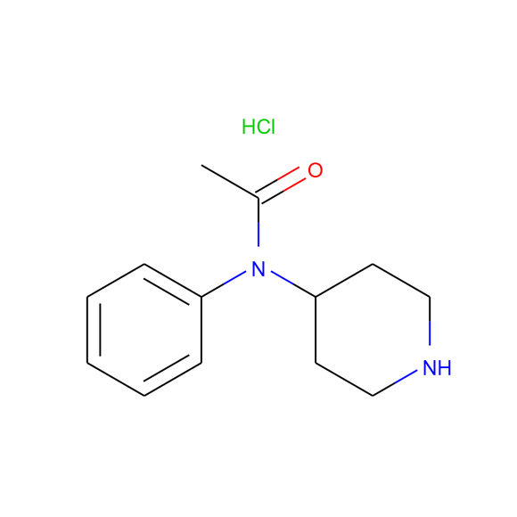 US Biological N-4-Piperidylacetanilide-d5 Hydrochloride SKU: 457895 package