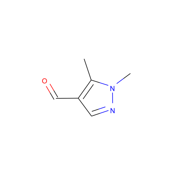 A2B Chem 1,5-dimethyl-1H-Pyrazole-4-carboxaldehyde SKU: AB49790 package