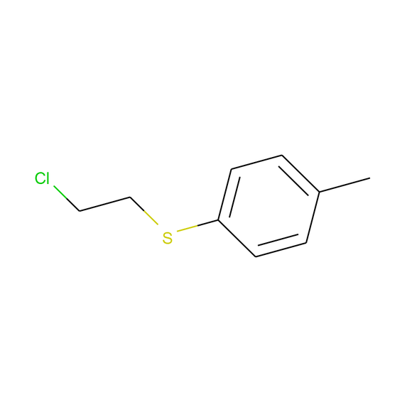 A2B Chem Benzene, 1-[(2-chloroethyl)thio]-4-methyl- SKU: AB17955 package