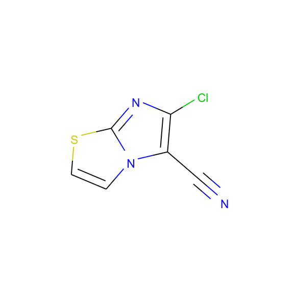 A2B Chem Imidazo[2,1-b]thiazole-5-carbonitrile, 6-chloro- SKU: AB23869 package