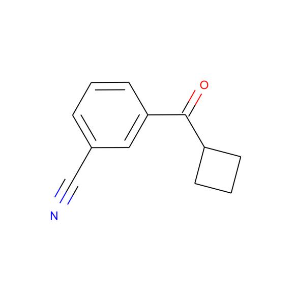A2B Chem 3-CYANOPHENYL CYCLOBUTYL KETONE SKU: AH89035 package