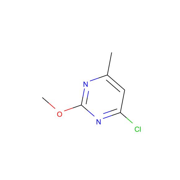 A2B Chem Pyrimidine, 4-chloro-2-methoxy-6-methyl- SKU: AI65400 package