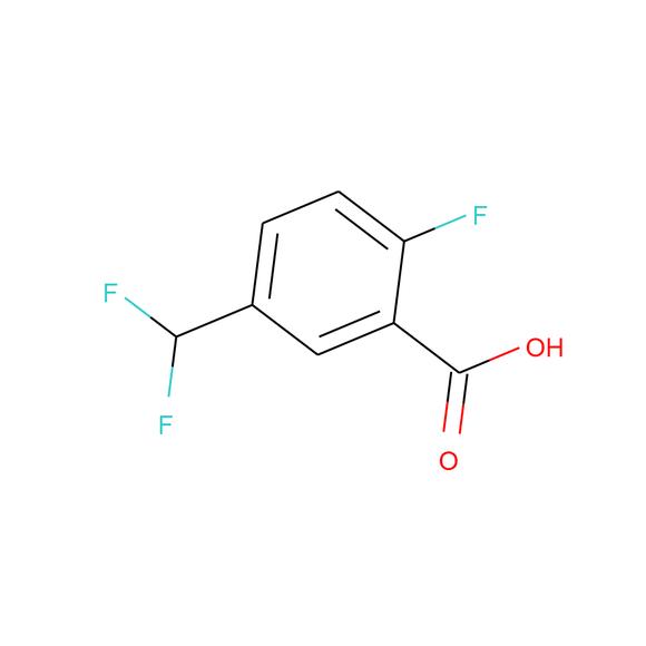 1PlusChem 5-(difluoromethyl)-2-fluorobenzoic acid SKU: 1P01B72V package