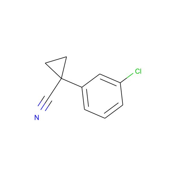 1PlusChem Cyclopropanecarbonitrile, 1-(3-chlorophenyl)- SKU: 1P000M99 package