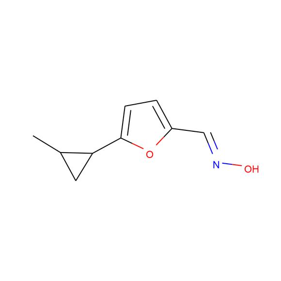 1PlusChem N-{[5-(2-methylcyclopropyl)furan-2-yl]methylidene}hydroxylamine SKU: 1P01BYB9 package