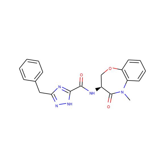 1PlusChem (S)-5-benzyl-N-(5-methyl-4-oxo-2,3,4,5-tetrahydrobenzo[b][1,4]oxazepin-3-yl)-4H-1,2,4-triazole-3-carboxamide SKU: 1P00ARF5 package
