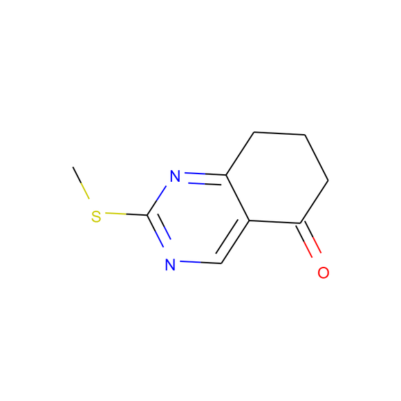 Ambeed 2-(Methylthio)-7,8-dihydroquinazolin-5(6H)-one SKU: A180390 package