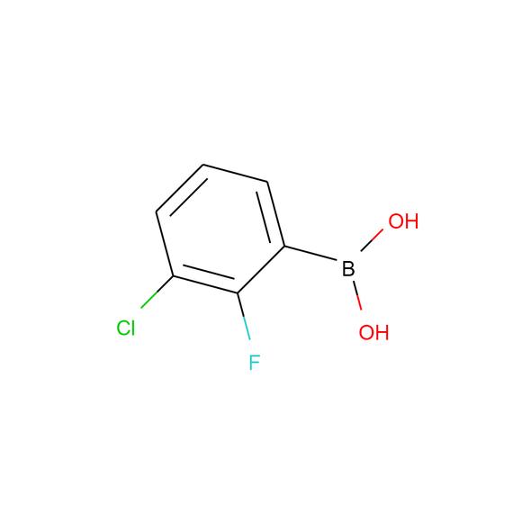 Ambeed 3-Chloro-2-fluorophenylboronic Acid SKU: A224846 package