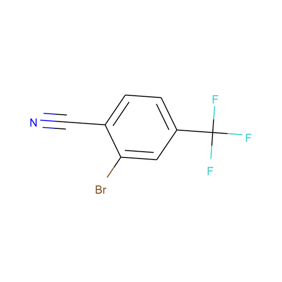 Ambeed 2-Bromo-4-(trifluoromethyl)benzonitrile SKU: A179463 package
