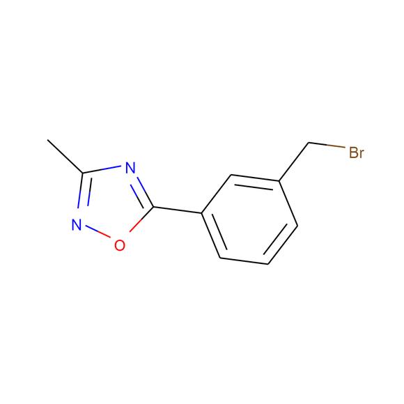 Apollo Scientific 5-[3-(Bromomethyl)phenyl]-3-methyl-1,2,4-oxadiazole SKU: OR12432 package