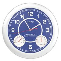 Clock Thermometer Humidity Traceable