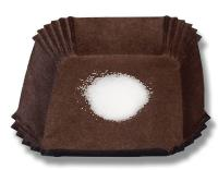 Weighing Boat Small Brown Paper Eco