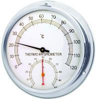 Thermometer-Hygrometer Round 0/120C