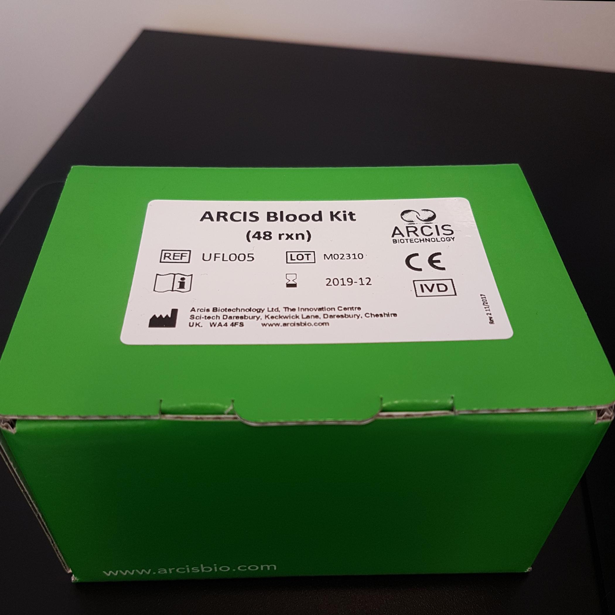 Arcis Blood Kit CE-IVD